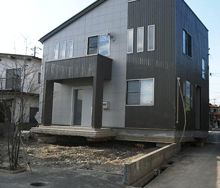 津波で流された家1