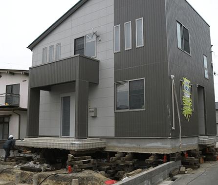 津波で流された家2