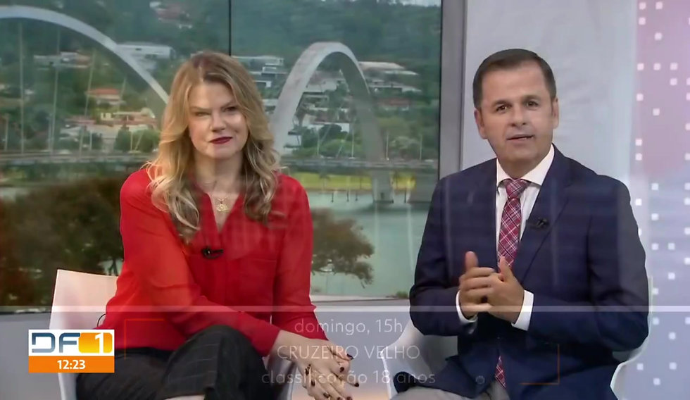 Sandrox no DFTV 12/01/2019