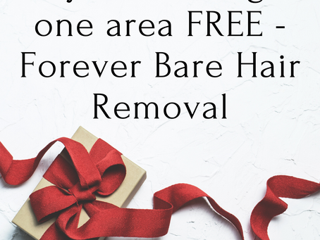 FOREVER BARE - buy one get one FREE