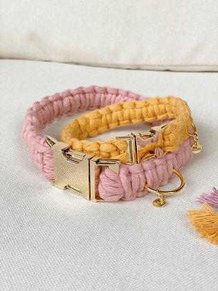 Custom Macrame Dog/Cat Collar