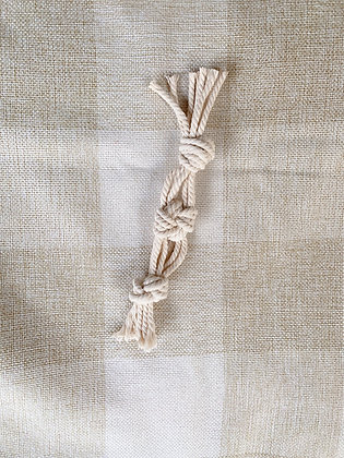 Macrame Toy - The Knotty One