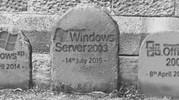 Windows Server 2003 Bites The Dirt