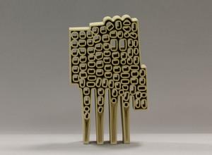 Allegorical Figure-1, ceramics, Hasan Sahbaz