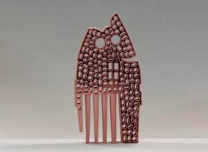 Owl, ceramics, Hasan Sahbaz