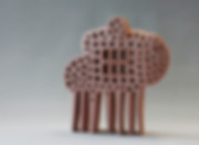 Allegorical Figure-2, ceramics, Hasan Sahbaz