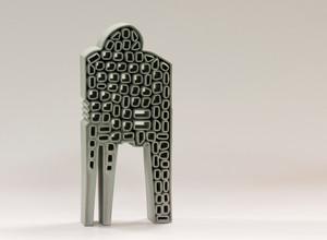Loneliness, ceramics, Hasan Sahbaz
