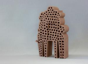 Allegorical Figure-4, ceramics, Hasan Sahbaz