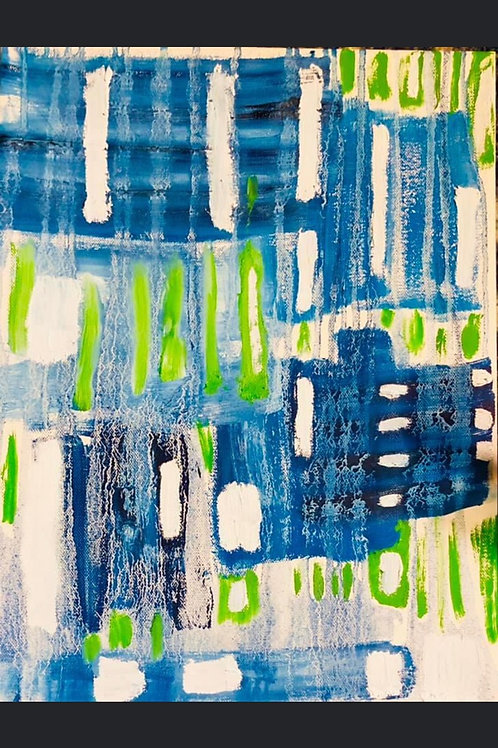 """Brenda Cope """"Blue then Black and Blue Too"""""""