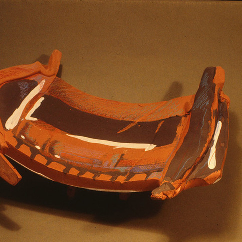 EARTHENWARE PLATTER - 1983