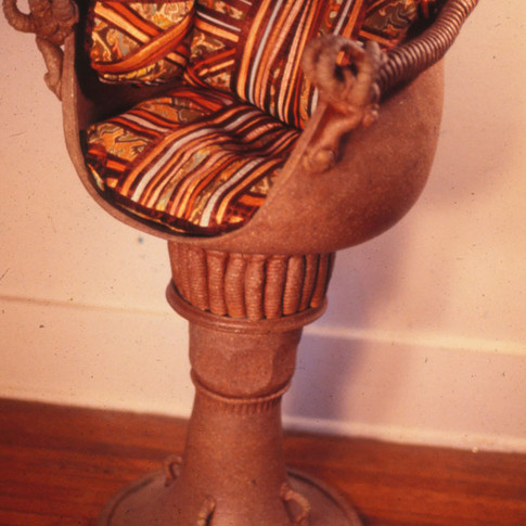 SALT-FIRED CHAIR - 1976