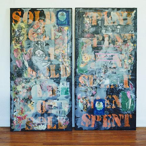 SOLD//SPENT  by Allison Ward