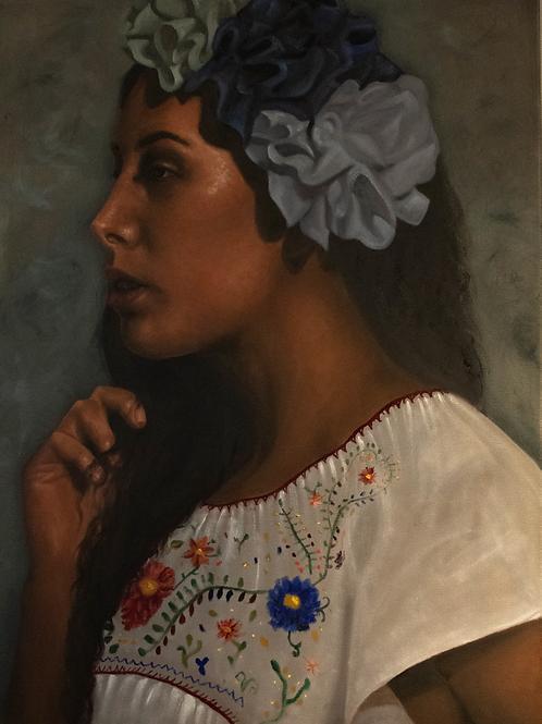 Self Portrait No.2 by Frida Cornelio