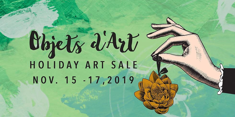 Objets D'art Gala Opening: