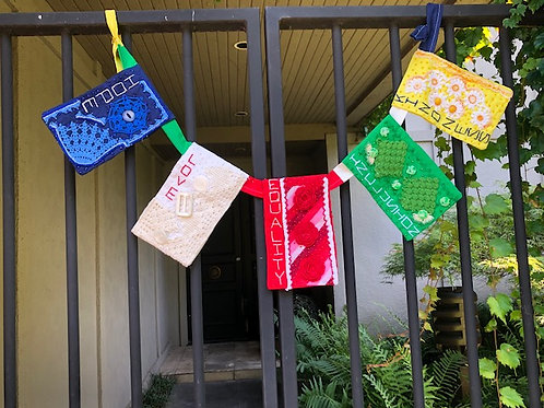 Prayer Flag 2 - Cast Your Fate to the Wind by Janis Updike Walker