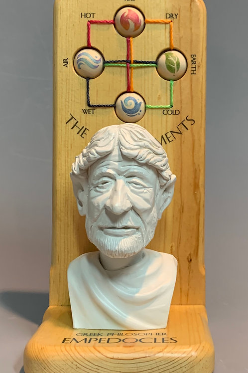 The Periodic Chart of the Elements According to Empedocles by Rusty Johnson