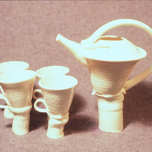 Cone 6 Teaset #3b - 1986
