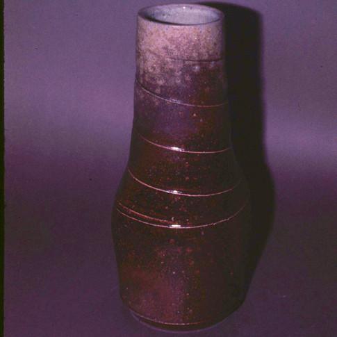 TU SALT-FIRED VASE - 1975