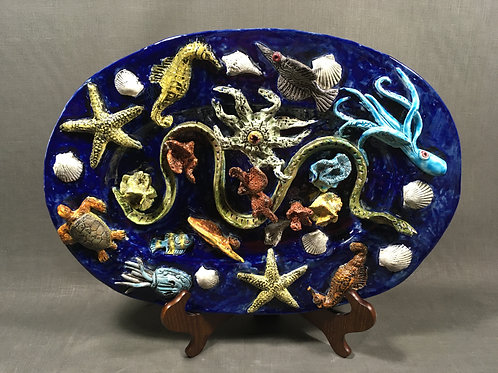 CREATURES OF THE DEEP  by Marjorie Atwood & Steve Liggett