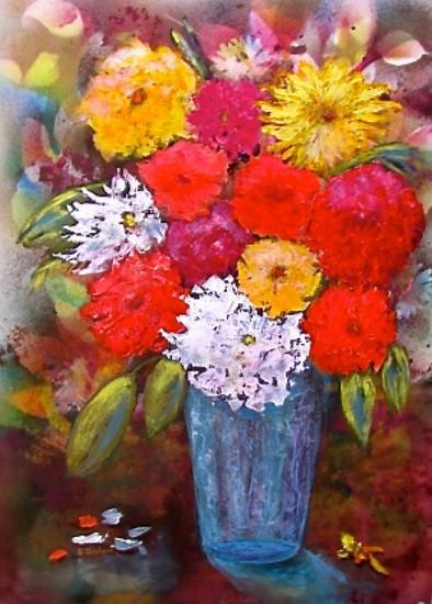 """Summer Blooms"" by Shirley Shepherd"