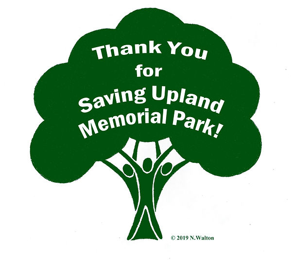 People4UplandParks_Thank You for Saving