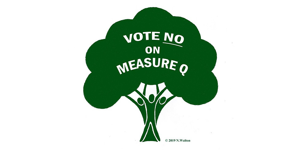"""RALLY - """"No on Measure Q"""" Group Therapy Session"""