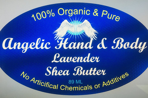 Organic Lavender infused Shea Butter