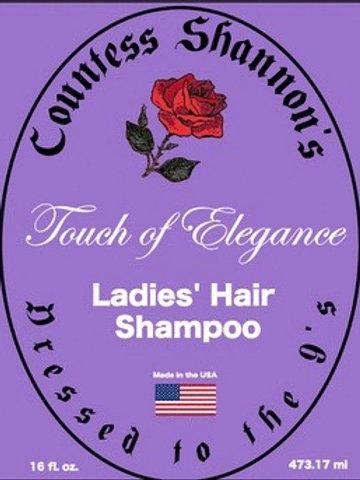 Countess Shannon's Ladies' Hair Shampoo