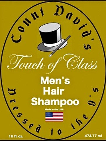 Count David's Men's Hair Shampoo