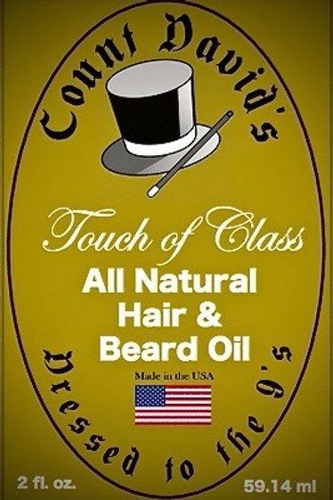 Count David's All Natural Hair & Beard Oil