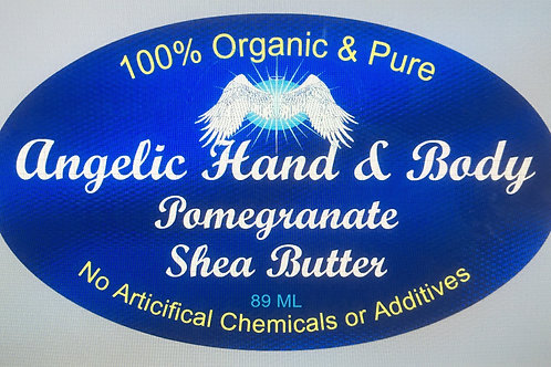 Organic Pomegranate infused Shea Butter