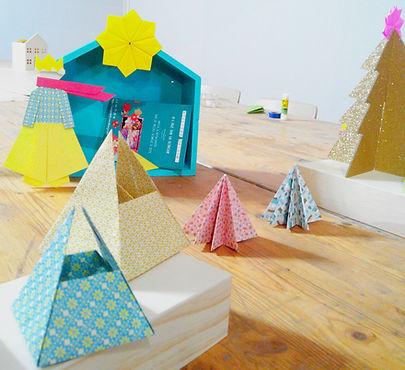 Arbre de Noël atelier créatif - PACA