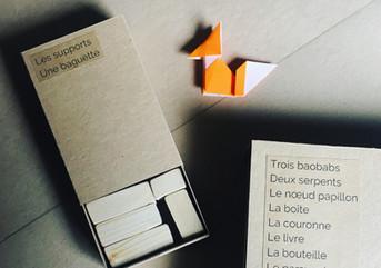 """Projet leporello """" Le Petit Prince en papier """" - Mallette à histoire - Médiathèque de Tarascon"""