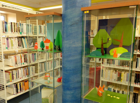 Location exposition médiathèque biblioth