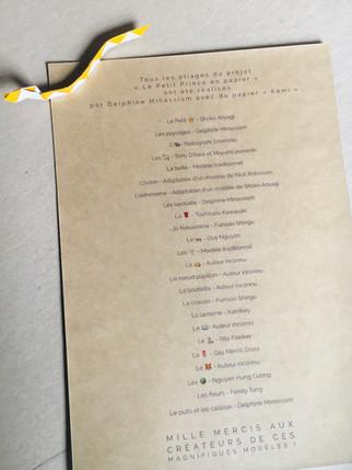 """Projet """" Le Petit Prince en papier """" - Mallette à histoire - Médiathèque de Tarascon"""