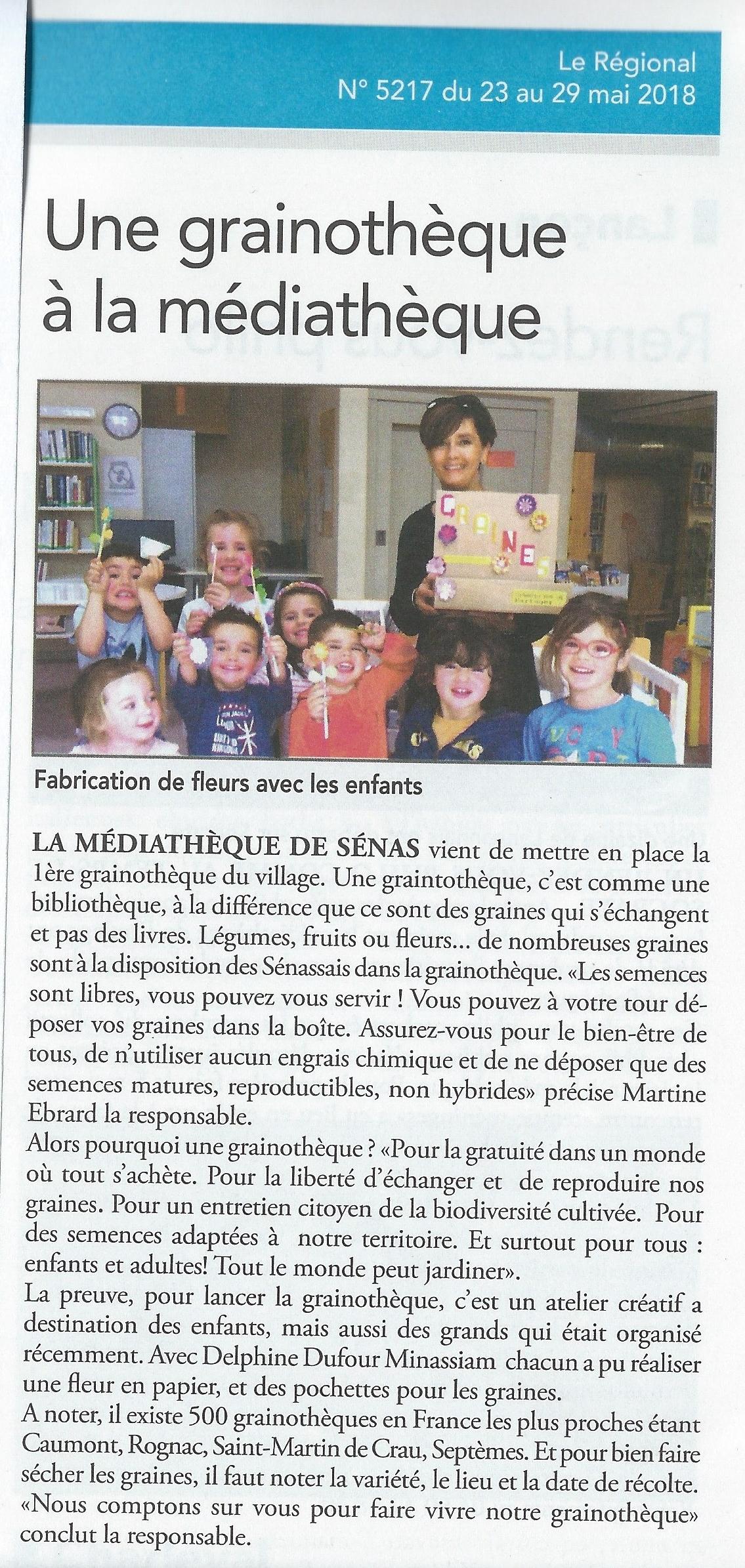 Installation_d'une_grainotèque_-_Médiathèque_de_Sénas_-_Atelier_créatif_Mon_atelier_origami_Bouches_