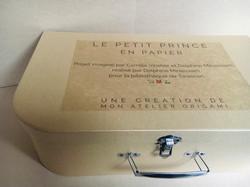 Projet valisette leporello Le Petit Prin