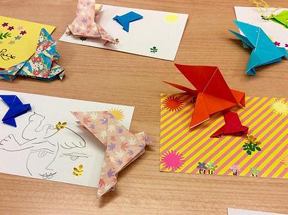 Atelier origami médiathèques LMV adultess