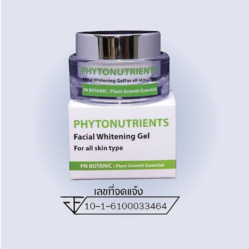 ครีมทาฝ้า Phytonutrients Facial Whitening Gel
