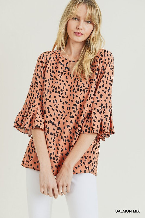 Bold and Brilliant Speckled Top