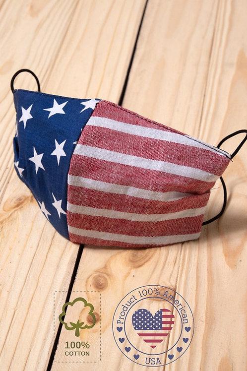 God Bless the USA Mask