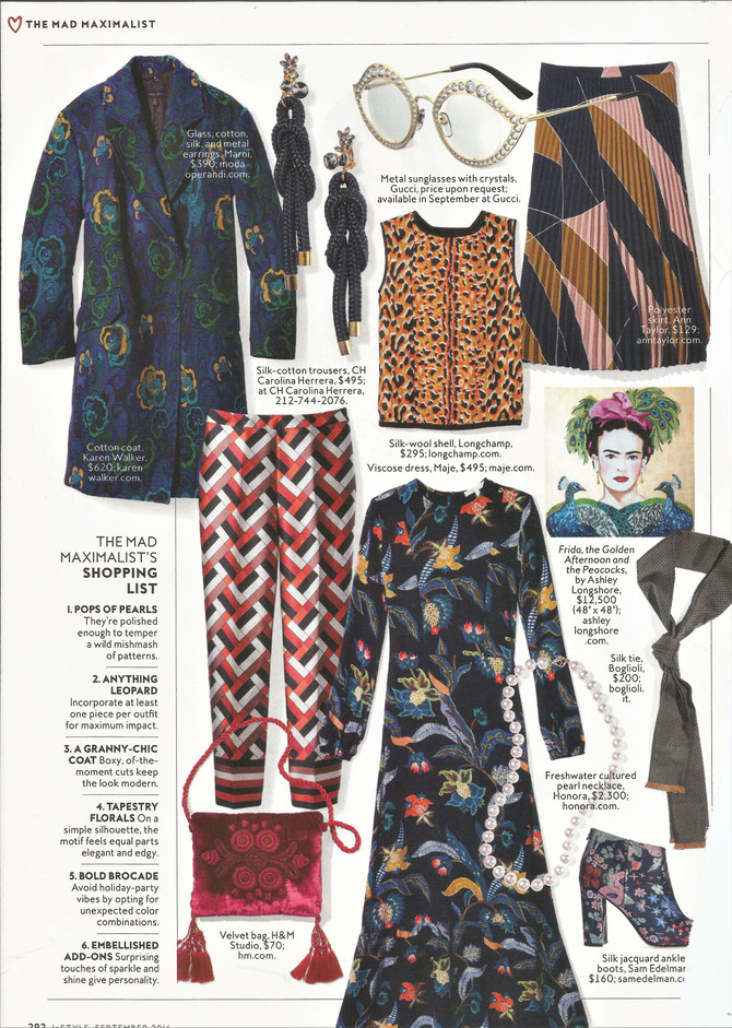 InStyle on Tapestry Florals