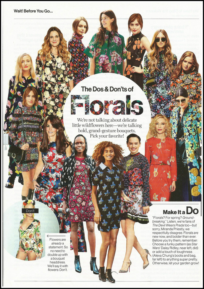 The Dos & Don'ts of Florals