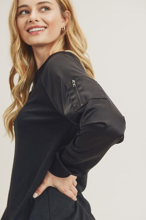 Better Than Fiction Top in Black
