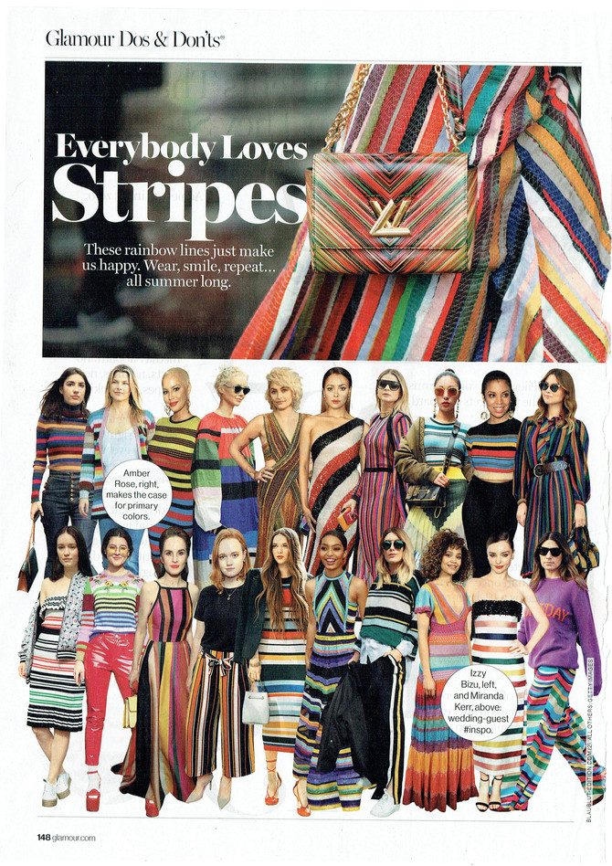 Glamour Loves Stripes, And So Do We!