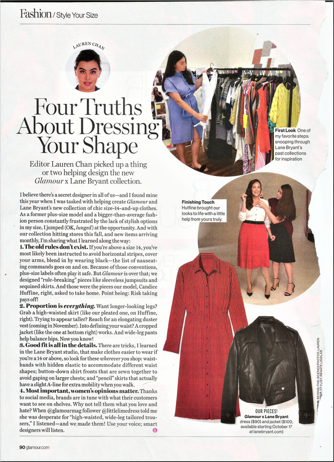 Glamour Magazine's Lauren Chan on Dressing Your Shape