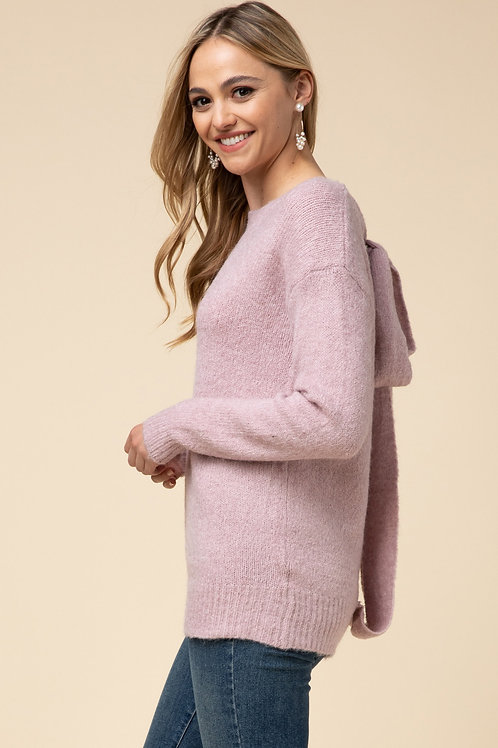 Promise Me Bow Sweater