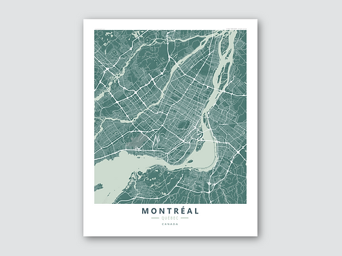 MONTREAL Green-Grey