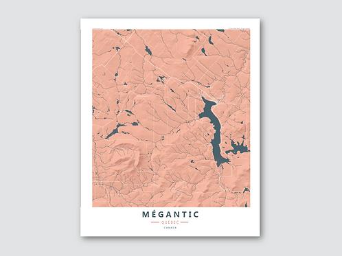 MEGANTIC Orange Blue
