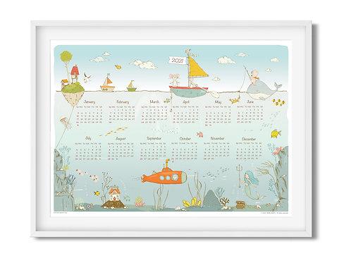 Calendar 2021 - Magic Ocean